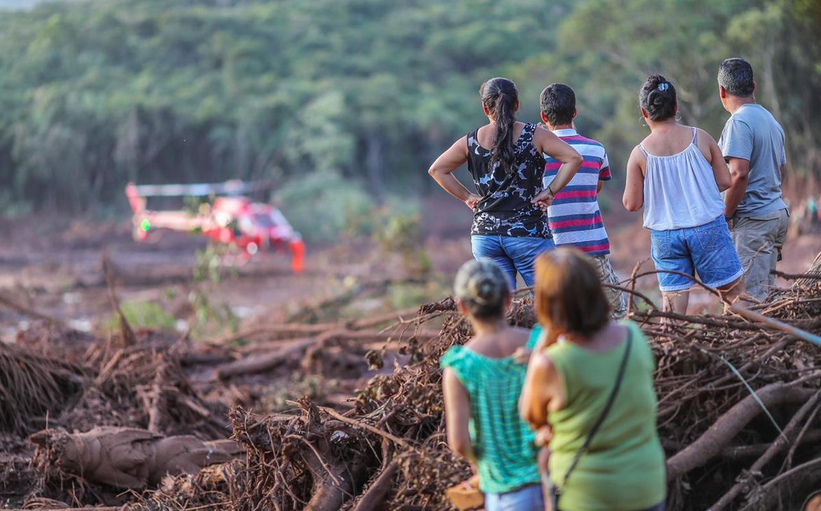 Kein Unfall, sondern ein Verbrechen: Betroffene des Dammbruchs in Brasilien fordern Lieferkettengesetz in Deutschland