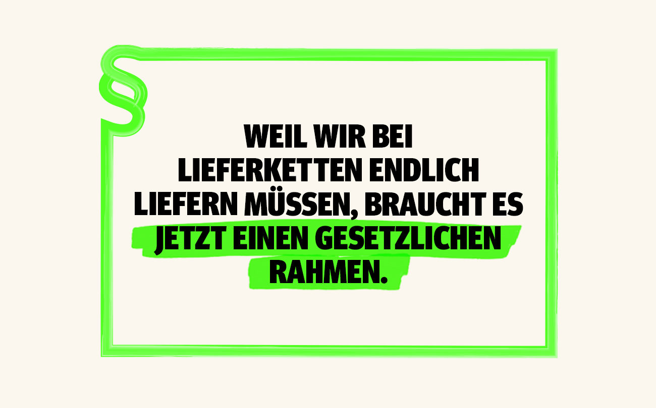 Schluss mit der Blockade von Menschenrechten und Umweltschutz: Jetzt Protest-Mail an Minister Altmaier schreiben!